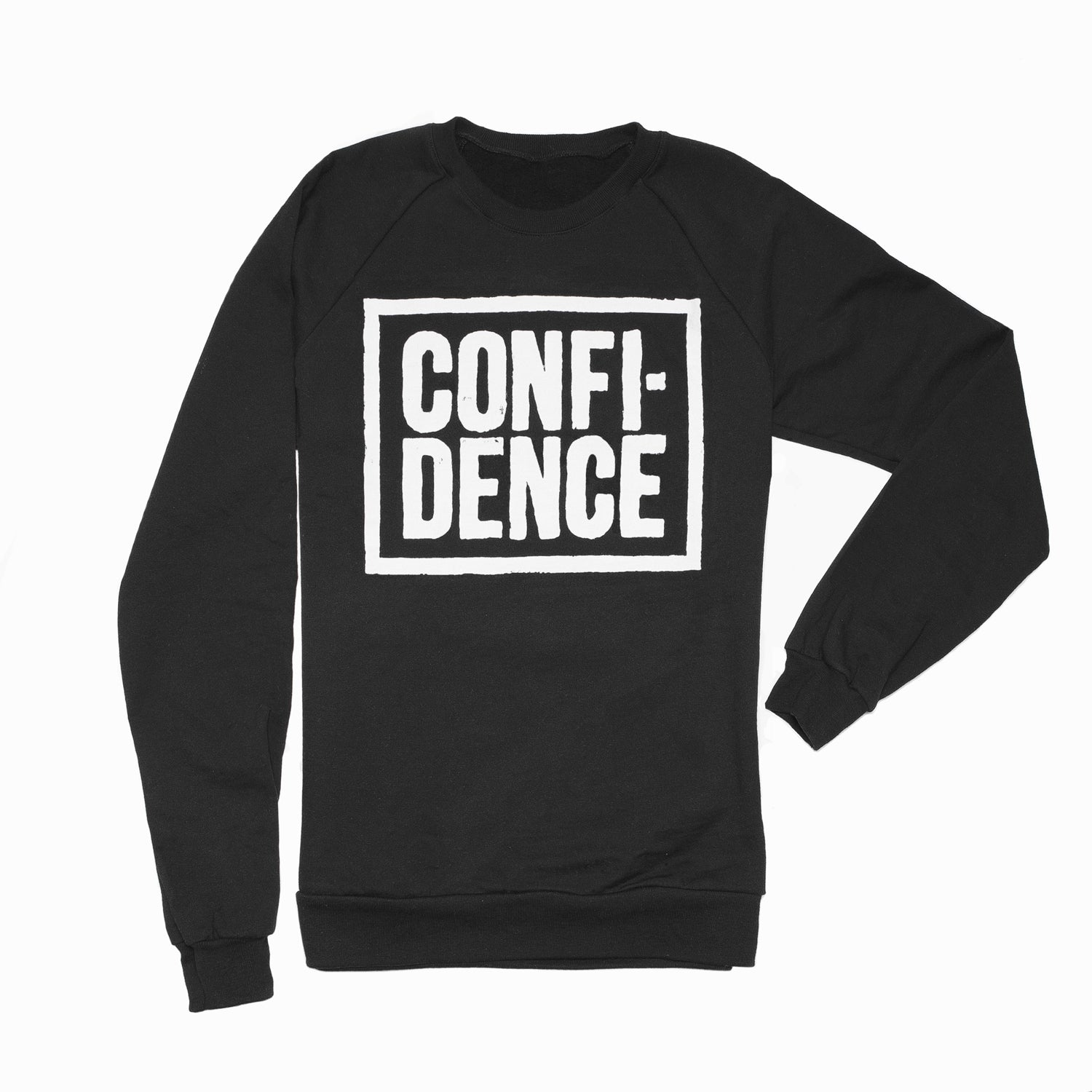 CONFIDENCE sweatshirt Black