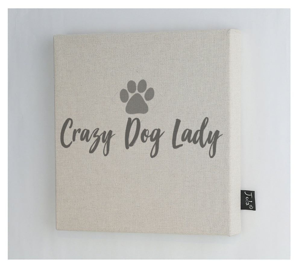 Crazy dog lady Canvas