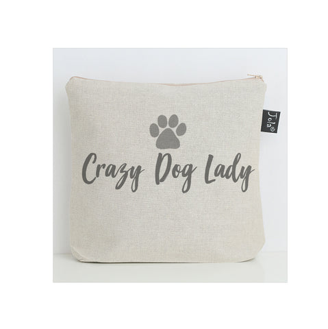 Crazy Dog Lady wash bag