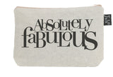 Absolutely Fabulous Bold small make up bag