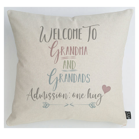 Admission one hug cushion