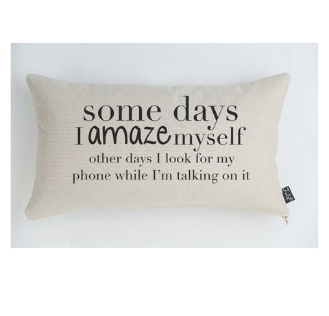 Amaze myself cushion