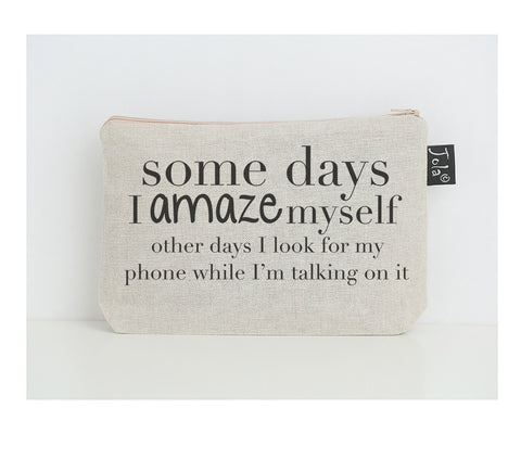 Amaze Myself small make up bag