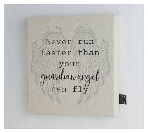 Angel Canvas Frame