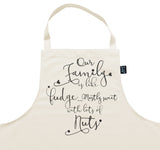 Family Nuts Apron