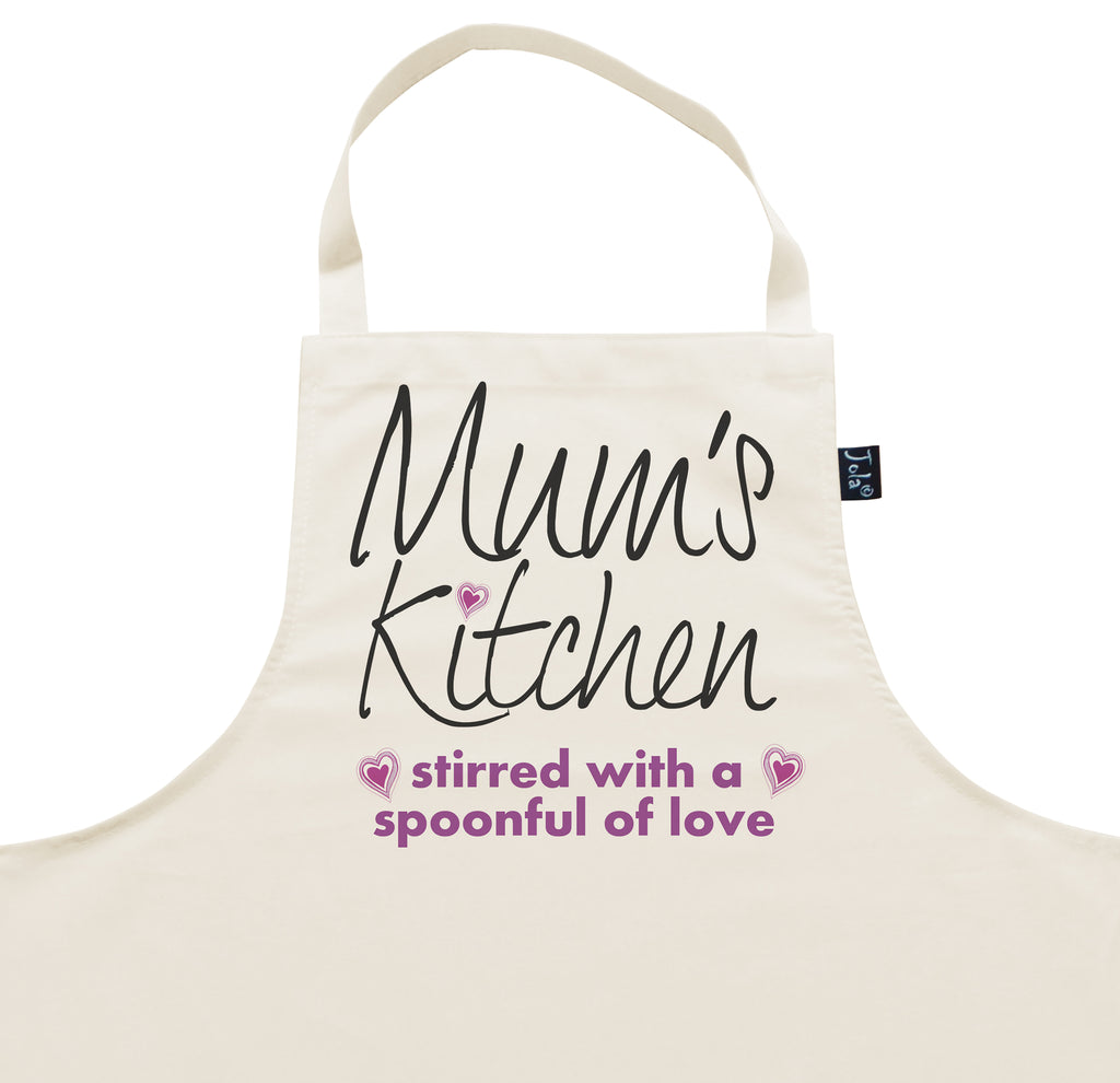Mum's Kitchen Love Apron