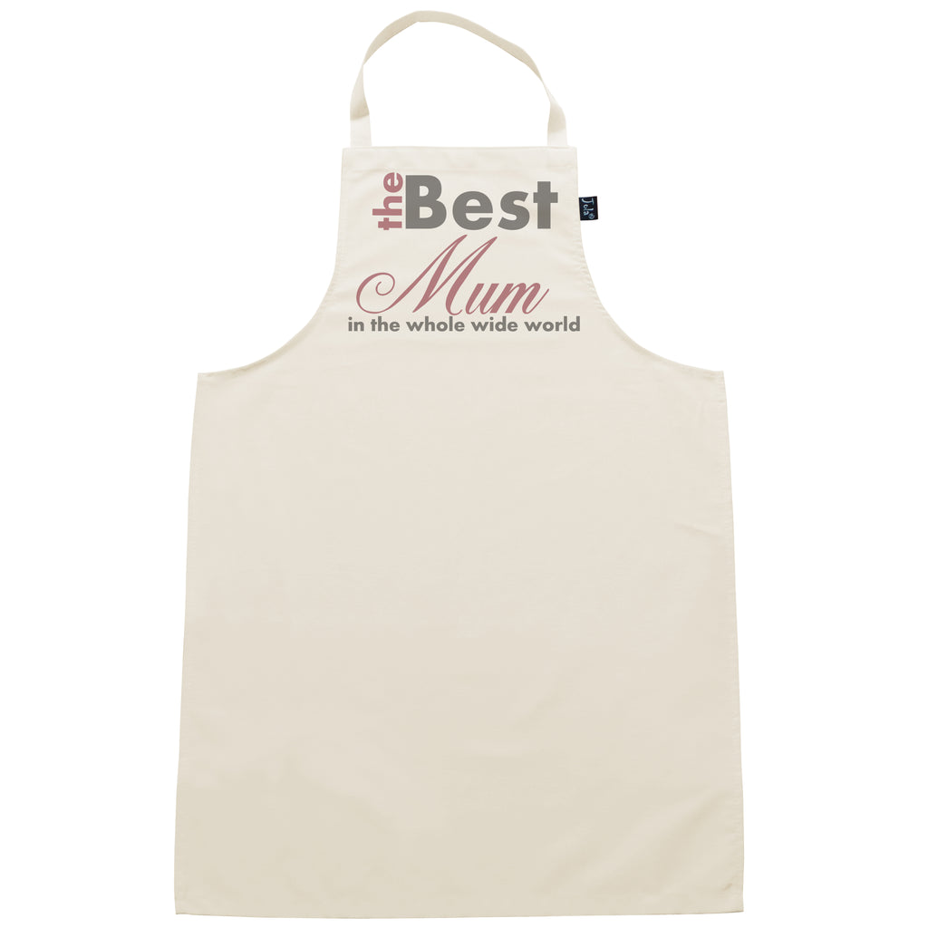 Best Mum in the whole wide world apron