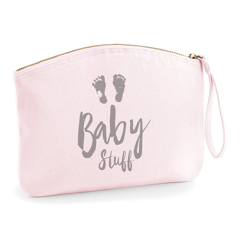 Baby Stuff Brushed Cotton Purse Bag