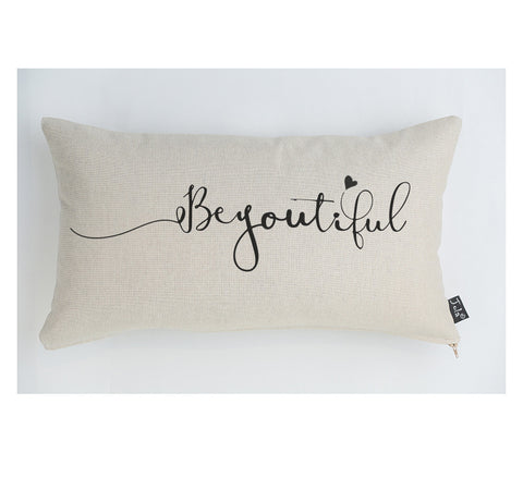 BeYOUtiful large boudoir cushion