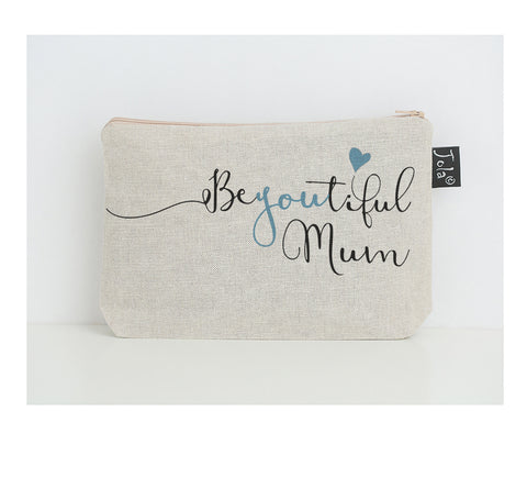 BeYoutiful Mum small make up bag