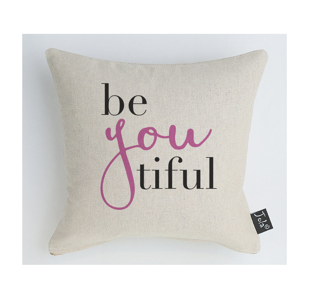 BeYouTiful pink Cushion