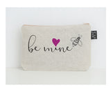 Be Mine small make up bag pink heart