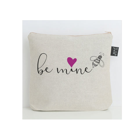 Bee mine pink heart Wash Bag