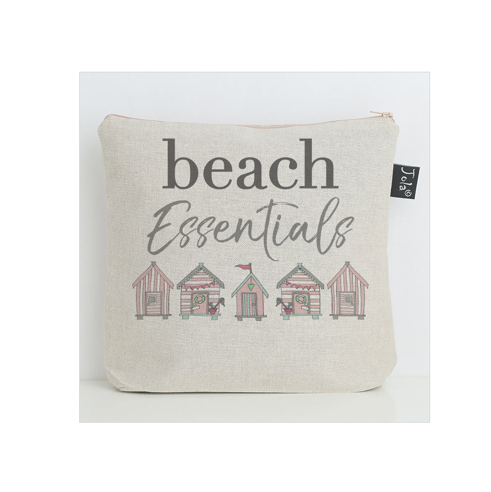 Beach Essentials washbag pink