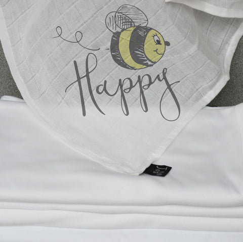 Bee Happy Muslin