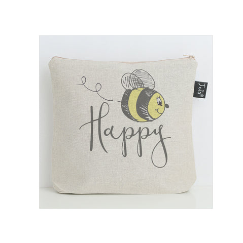 Bee Happy washbag