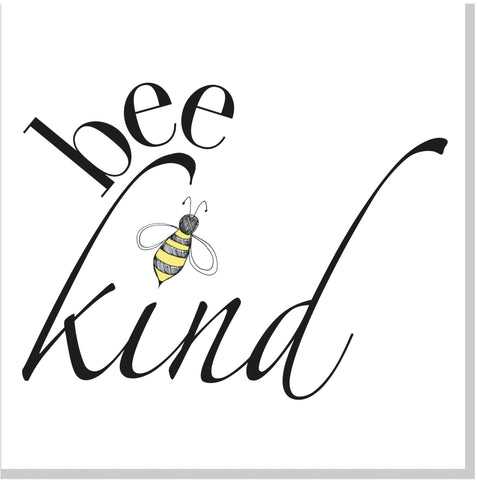 Bee Kind square card