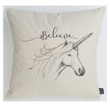 Unicorn Believe cushion