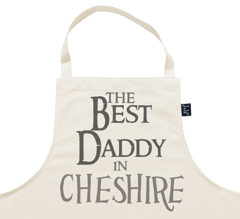 Personalised City Best Daddy Apron