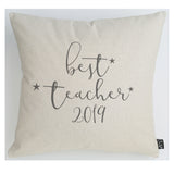 Best Teacher 2019 cushion
