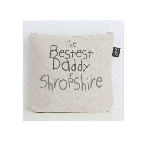 Bestest Daddy city wash bag