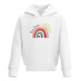 Little Sister Rainbow Toddler Hoodie