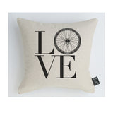 Love Bike Wheel cushion