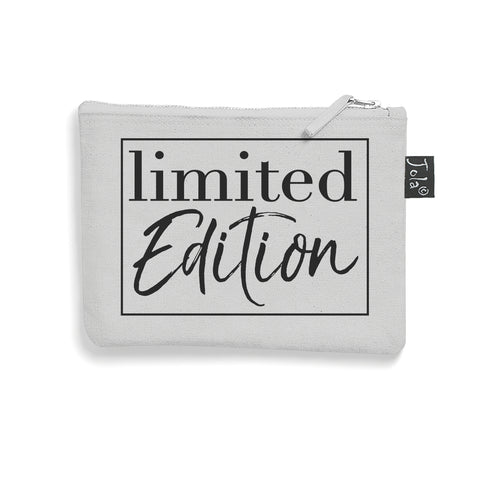 Brushed cotton Limited Addition make up bag