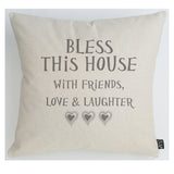 Bless This House large cushion