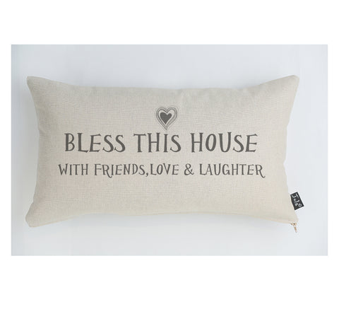 Bless This House cushion