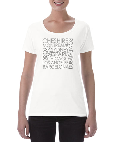 Personalised Cotton T Shirt Block City