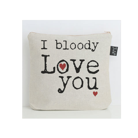 Bloody Love You washbag