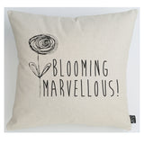 Blooming Marvellous Flower Cushion
