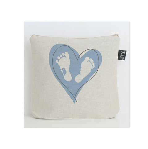 Baby Feet Heart nappy bag