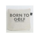 Born to Golf wash bag