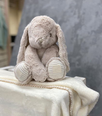 Personalised Soft Bunny with Blanket