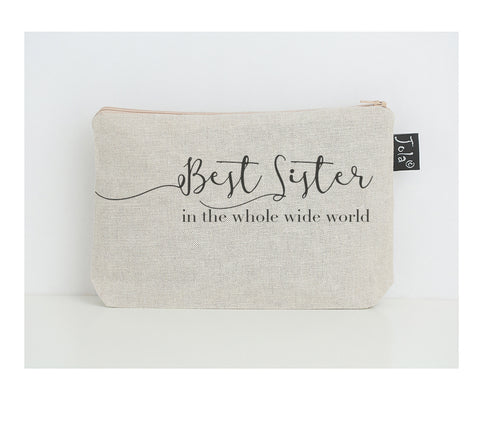 Best Sister small make up bag