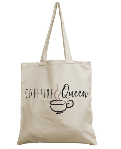 Caffeine Queen canvas bag