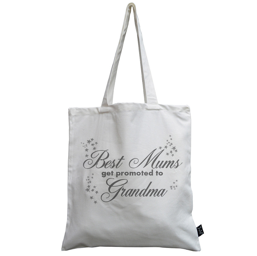 Best Mums get promoted canvas bag