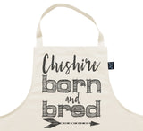 Personalised city born and bred Apron