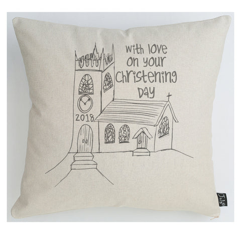 Christening Church Cushion