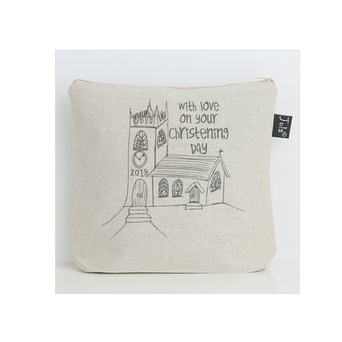 Church Christening Nappy Bag