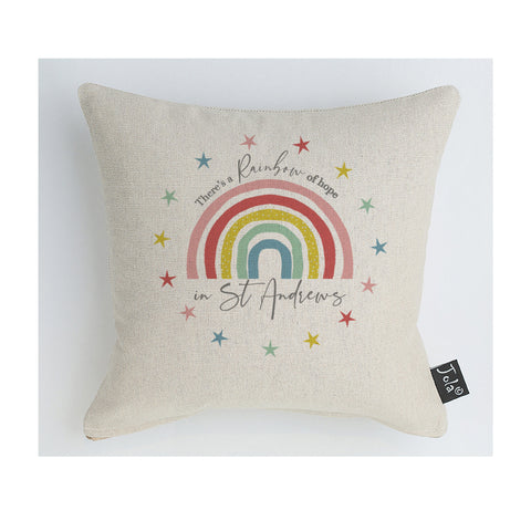 City Rainbow cushion