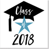 Class of 2018 square card