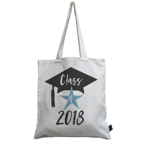Class of 2018 canvas bag