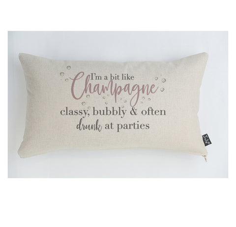 New Champagne Classy Cushion pink