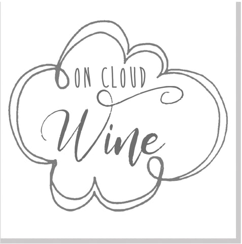 On Cloud Wine square card