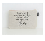 Control my hair small make up bag