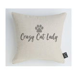 Crazy cat lady cushion