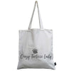 Crazy Tortoise lady canvas bag
